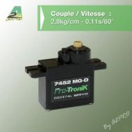 Micro Servo Numérique 7452 MG-D