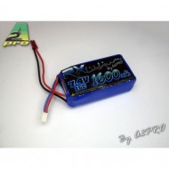 Pack Lipo Rx 1600mAh / 7.4V / Bec