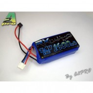 Pack Lipo Rx 1600mAh / 7.4V / JR