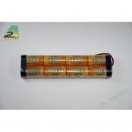 Pack Tx 9.6V/AP-3300SC JR type Tx