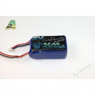Pack Lipo Rx 2600mAh / 7.4V / JR