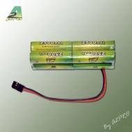 Pack Tx B 9.6V/AP-2500 Futaba type servo